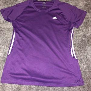brand new purple adidas t-shirt